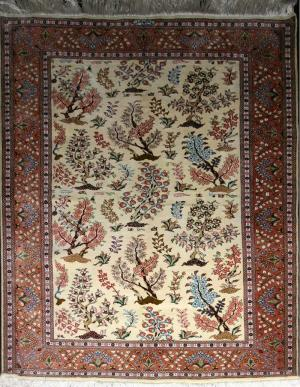Fine Persian Qum Silk (pq220910)