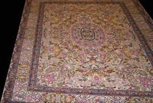 Persian Tabriz fine Suf Gold Thread (930135)