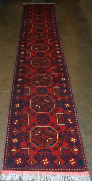 Afghan Khan Runner (Red) (124327)