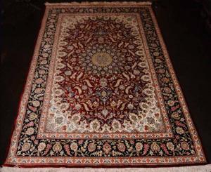 Fine Persian Silk Qum (109955)