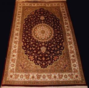 Fine Persian Silk Qum (31281q)