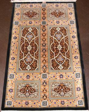 fine Persian Silk Rug (99g2460q)