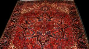 Persian Heriz (Red) (111650)