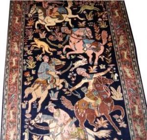 Fine Persian Silk Qum (106964)