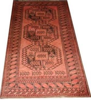 Old Red Afghan (126983)