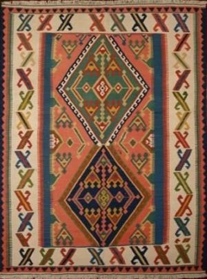 Persian Shiraz Kilim Sumak (202055)
