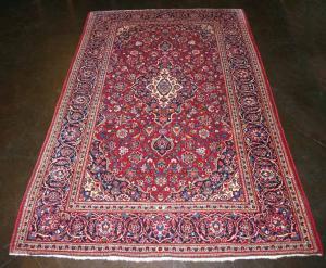 Fine Persian Kashan (Red) (114345)
