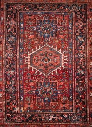 Old Persian Heriz (Euniq-6021)