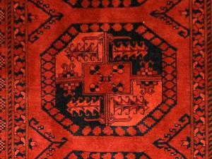 Fine Afghan Khan Kargahi (Er316-B3350)