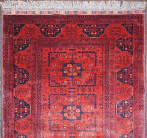 Afghan Khan (Red) Runner (Er117-M3673)
