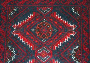Persian Baluch Runner (Er117-M4616)