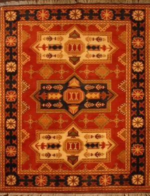 Afghan Kargai (Red) (122687)