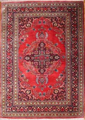 Fine Persian Silk Rug (293618)