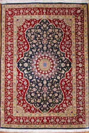 Fine Persian Silk Gom (293640)