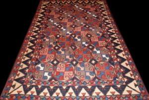 Uzbek Kilim (20xy19707)