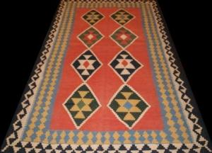 Persian Shiraz Qashquai Kilim (32mm423)